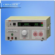 China AC/DC:0-5/10KV AC:0-100mA DC:0-20mA Digital Display Withstand Voltage Tester supplier