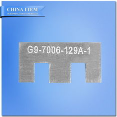 "China NEN 60061-3 7006-129A-1 G9 Not Go Gauge for Base, G9 ""No Go"" Gauge for Base supplier"