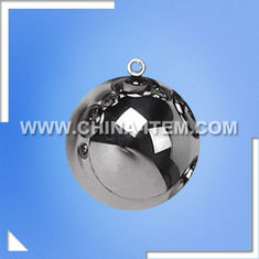 China IEC Standard Test Sphere Test Ball with ring supplier
