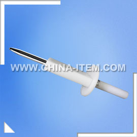 China IEC61010 Safety Test Finger Probe / Unjointed Finger Probe distributor