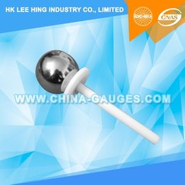 China Test Probe A of IEC61032 ,50mm Sphere with Baffle and Handle distributor